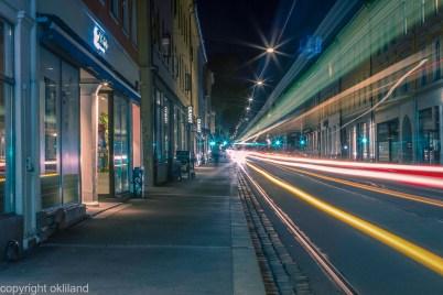 Lysmaling og HDR bilde Grunerløkka i Oslo av Ørjan Liland