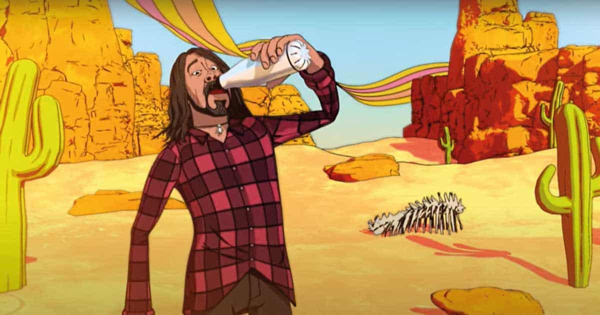"""Foo Fighters divulga clipe de """"Chasing Birds"""", música do novo álbum"""