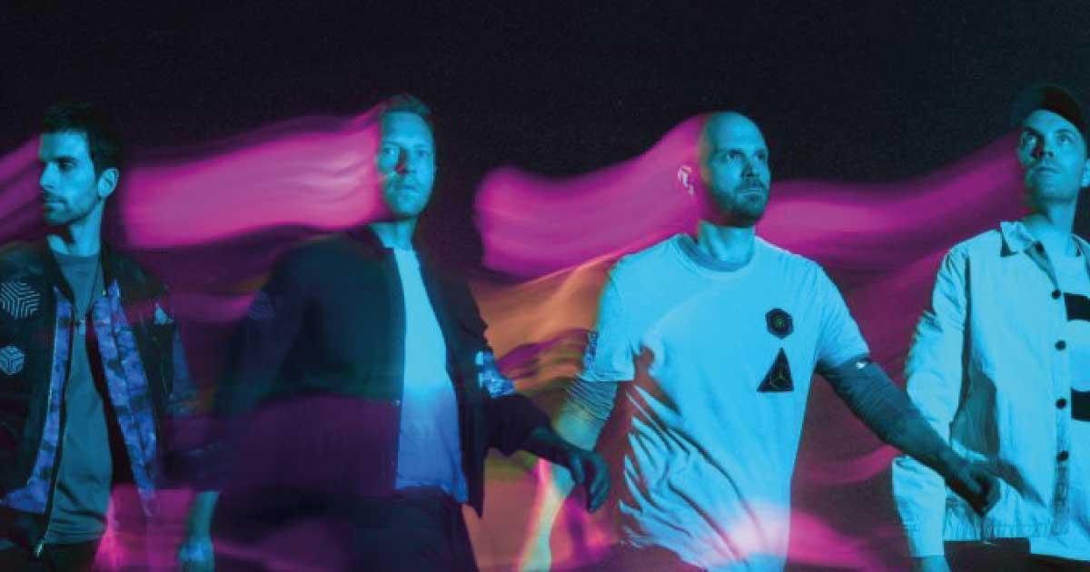 """Coldplay divulga trecho de """"Higher Power"""", seu novo single"""