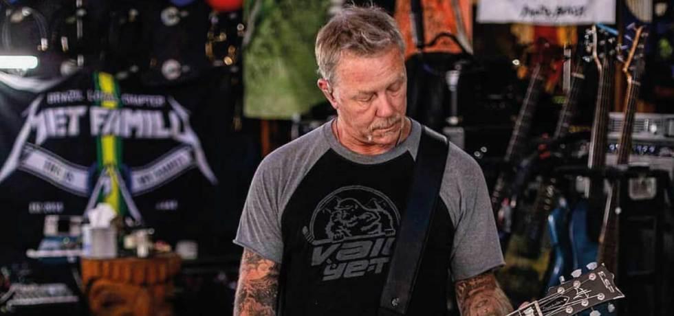 James Hetfield antivacina Veja o que ele disse