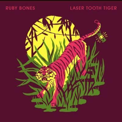 "Ruby Bones, de Nova Jersey, lança ""Laser Tooth Tiger"""