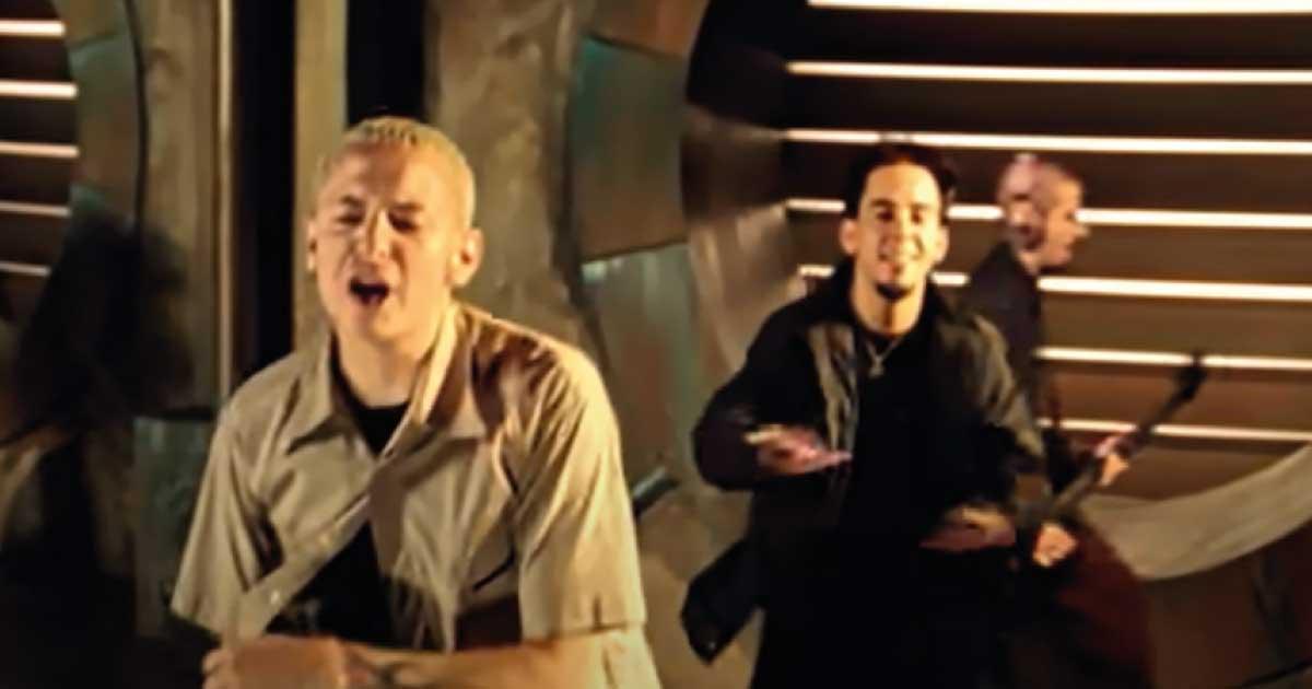 """""""In The End"""" do Linkin Park atinge um bilhão de audições no Spotify"""