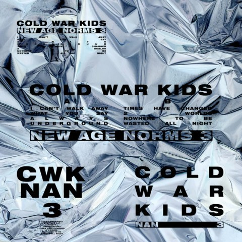 Cold War Kids - New Age Norms 3 - Capa