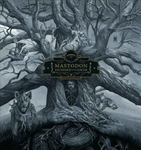 Mastodon - Hushed and Grim - Capa