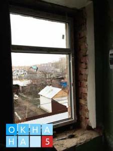 Установка окна в проеме