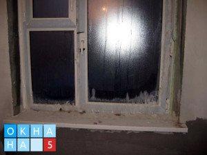плохая установка окна