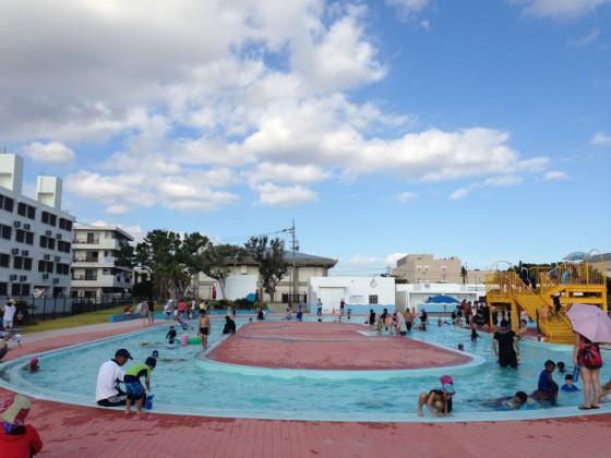 嘉手納町兼久海浜公園ウォーターガーデン