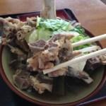 沖縄の食堂でディープな骨汁をどうぞ!「みはま食堂」