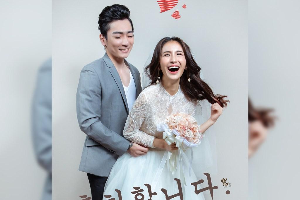 韓式素雅婚紗攝影-韓式婚紗