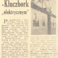 Elektryfikacja Fosowskie-Kluczbork (2)