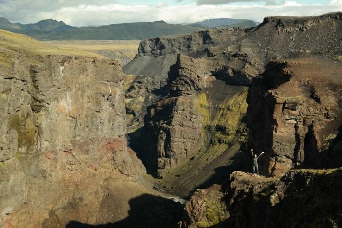 Kanjon Markarfljótsgljúfur