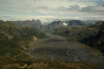 Pogled na Mýrdalsjökull