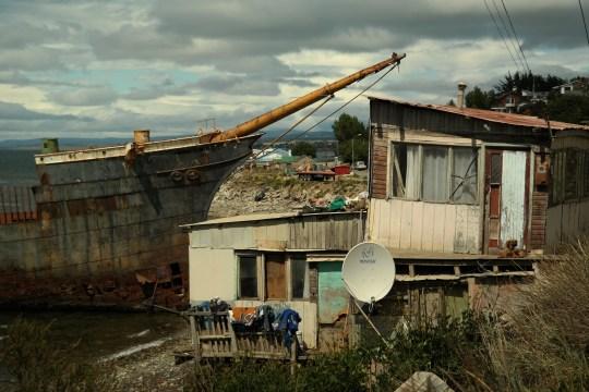 Olupina, neformalni spomenik pomorcima