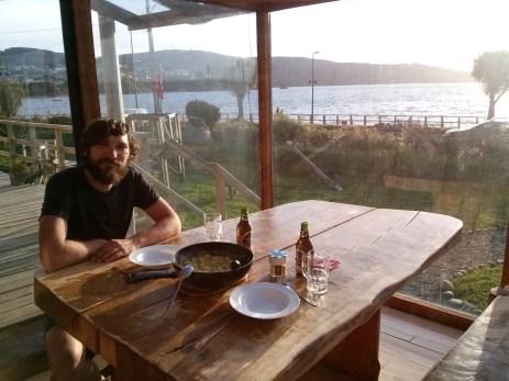 Večera na terasi