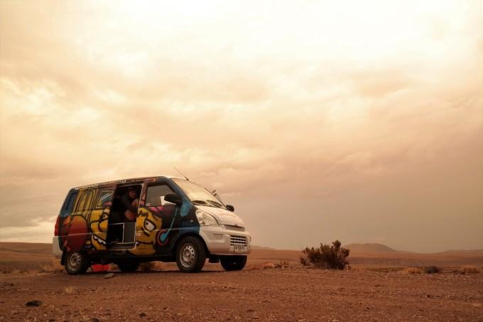 Naš mališa u pustinji