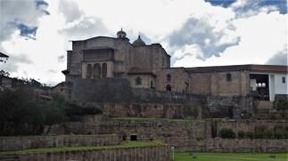Quorikancha - hram posvećen bogu sunca, nakon španjolskog osvajanja pretvoren je u crvu San Domingo
