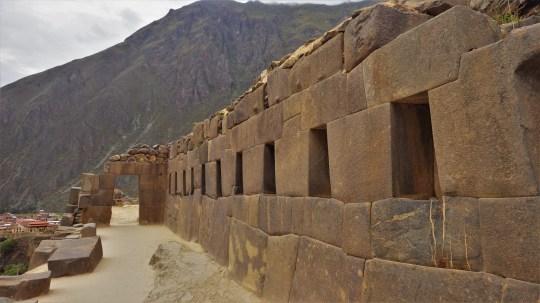 Zid hrama u Ollantaytambu