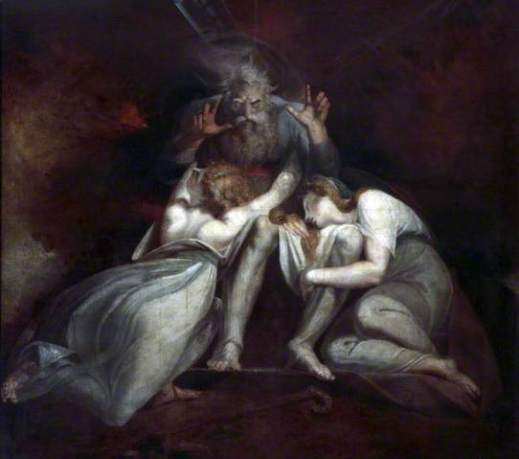 'The Death of Oedipus' by Henry Fuseli