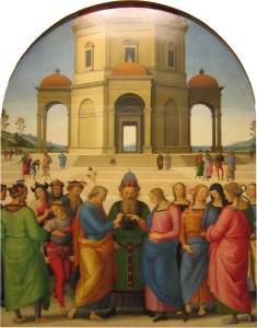 Perugino, Zaślubiny Marii