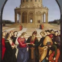 """Renesansowy plagiat czy inspiracja? """"Zaślubiny Marii z Józefem"""" - Rafael Santi i Perugino"""
