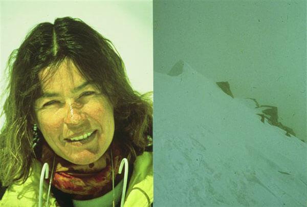 Wanda po powrocie z K2 (fot. z archiwum W. Rutkiewicz)