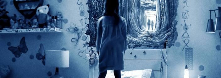 """Poster for the movie """"Paranormal Activity: The Ghost Dimension"""""""