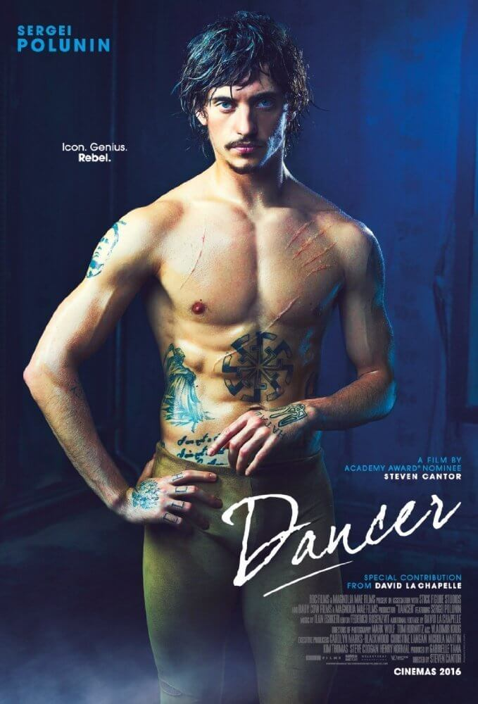"Poster for the movie ""Dancer"""