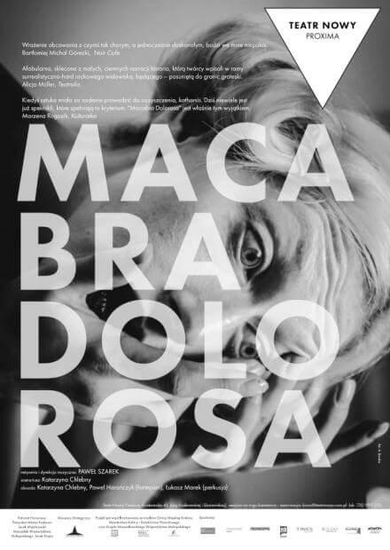 Spektakl Macabra Dolorosa - wydarzenia kulturalne w Łodzi