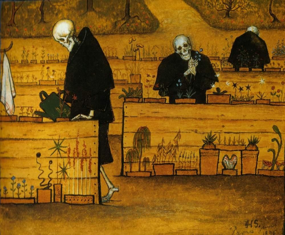 Obraz śmierci - Hugo Simberg