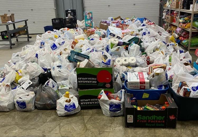 Okotoks Foodbank Donations
