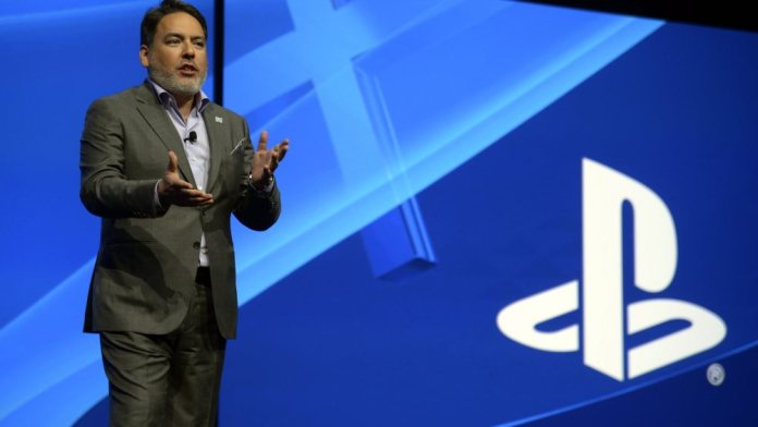 Mandatory Credit: Photo by Michael Nelson/EPA/REX/Shutterstock (7934164m) Shawn Layden President and Ceo of Sony Computer Entertainment America Introduces the Latest Sony Games and Technology at the Playstation Press Conference Prior to the Start of the E3 (electronic Entertainment Expo) in Los Angeles California Usa 15 June 2015 the E3 Expo Introduces New Games and Gaming Devices and is an Anticipated Annual Event Among Gaming Enthusiasts and Marketers United States Los Angeles Usa Consumer Playstation Presser E3 - Jun 2015
