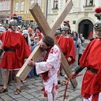 Živá krížová cesta v Prešove - 2012