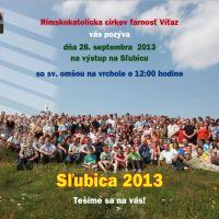 Pozvánka - Sľubica 28.9.2013