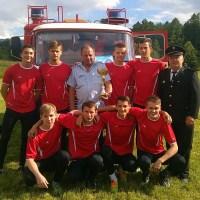Požiarnicka súťaž o pohár obce Šarišská Poruba - 21.6.2015