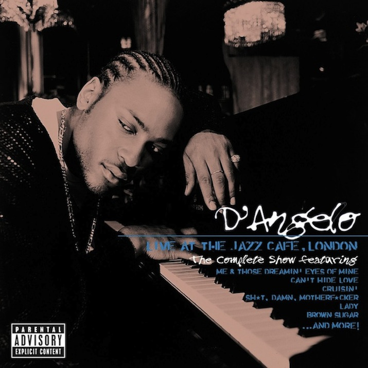 D'Angelo's 1995 Set 'Live At The Jazz Cafe' London' Gets An Official Release
