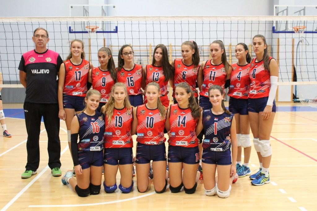 Ženski odbojkaški tim Srbijanka Valjevo