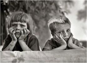 Oklahoma children 1936, Dorothea Lange