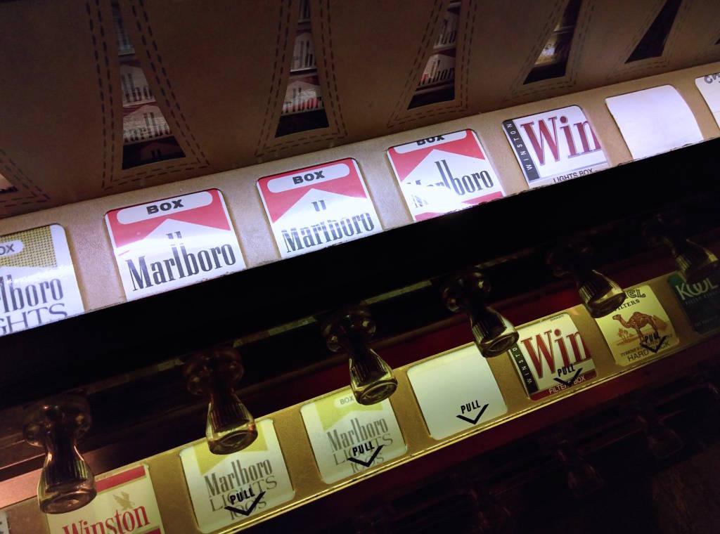Old buy cigarettes Bond Dublin