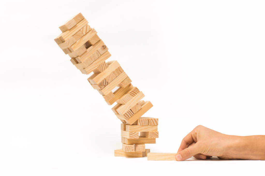 Image result for jenga falling