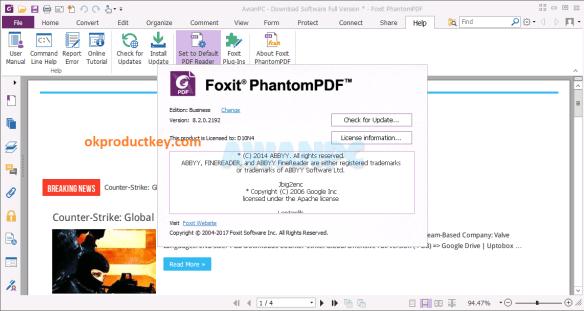 Foxit Reader 10.1.1.37576 Crack + Activation Key Full Download {Latest}