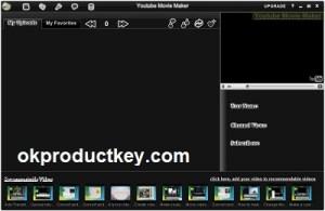 Youtube Movie Maker 18.56 Crack + Serial Key Download Full 2021