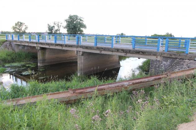 Kierowców czekają utrudnienia w związku z przebudową mostu na Rgilewce w Grzegorzewie