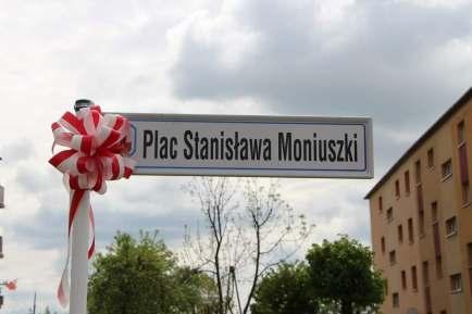 200. rocznica urodzin Stanisława Moniuszki, nadanie imienia kompozytora placowi w Kłodawie, plac Stanisława Moniuszki w Kłodawie