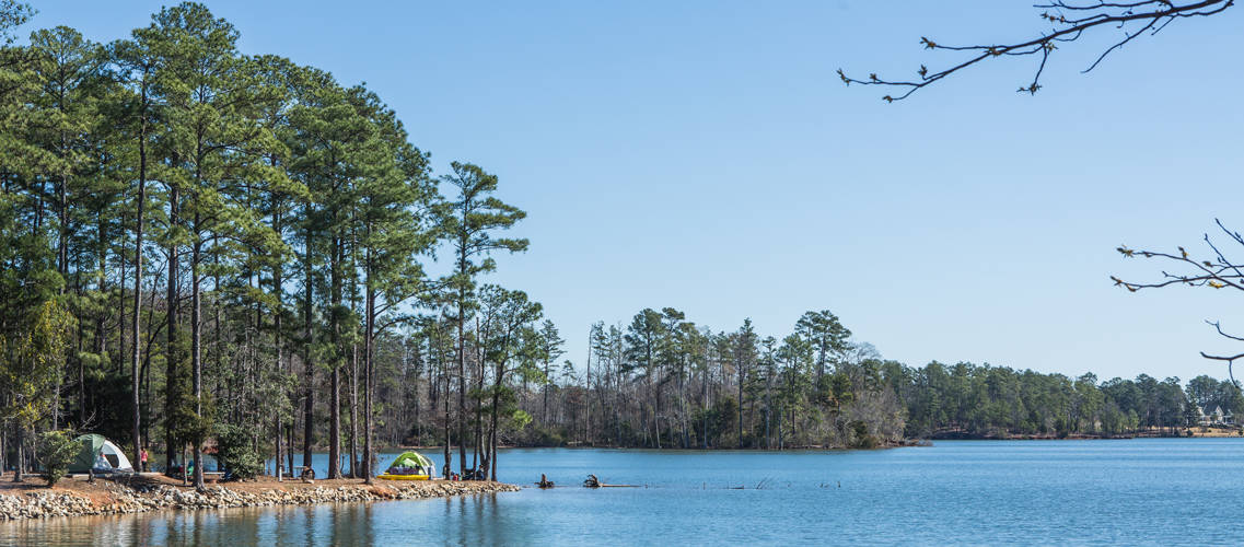 Visit The Okra Strut Go Camping on Lake Murray