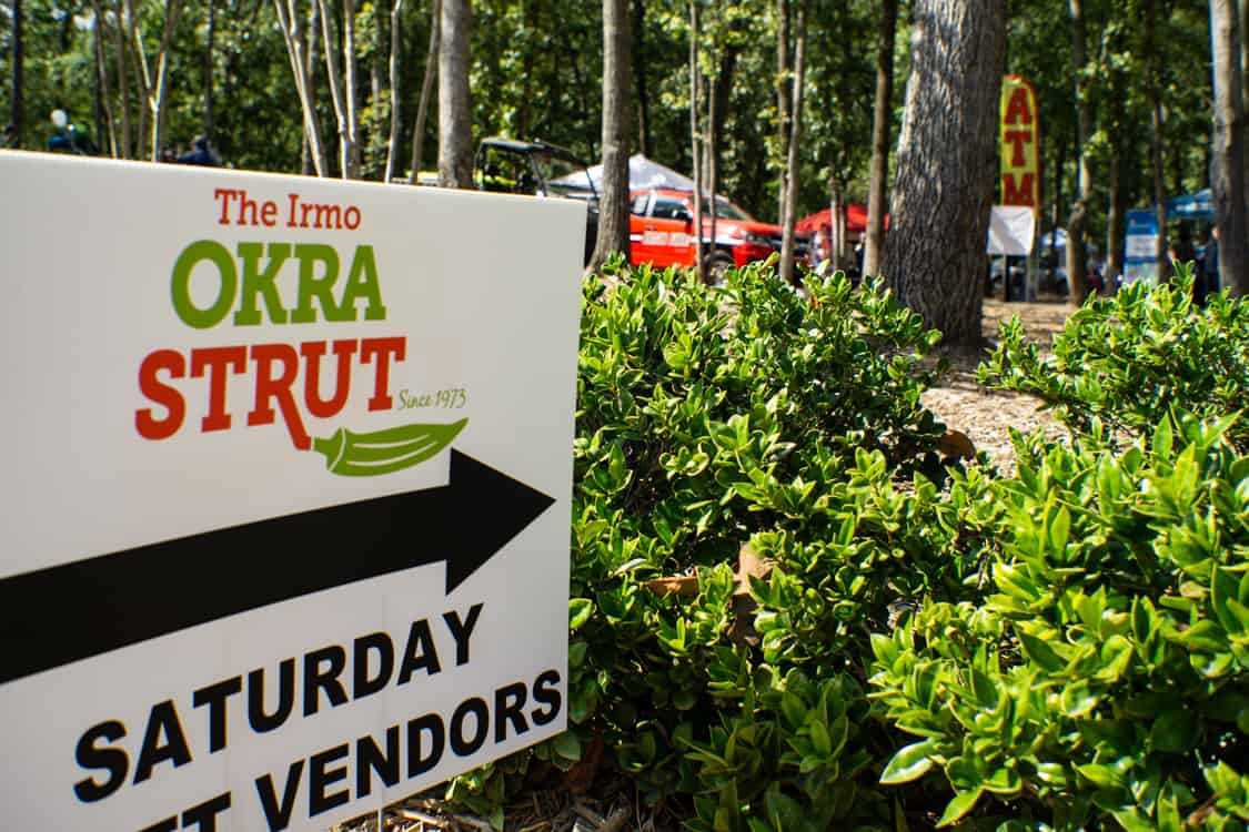 The 45th Annual Irmo Okra Strut Festival in South Carolina