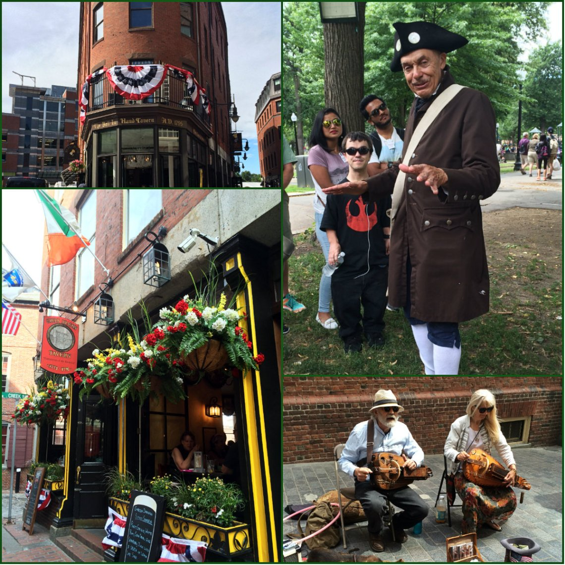 collage freedom trail
