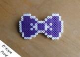 Barrette violette
