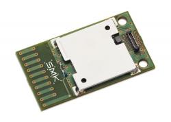 日本電波法に対応した、Sigfoxスタックを内蔵(UP LINK専用)