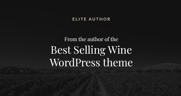 Villenoir Best Seller Wine Theme