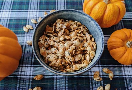 geroosterde pompoenpitjes recept